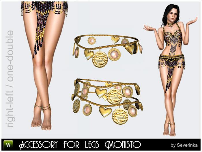 """Accessory for legs """"Monisto"""""""