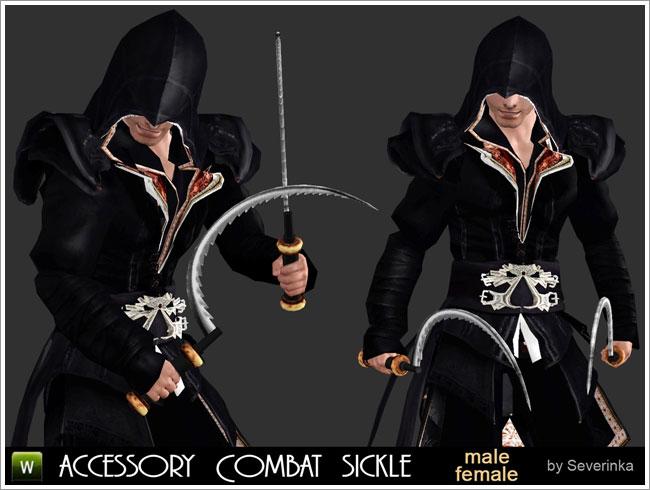 Accessory Combat sickle