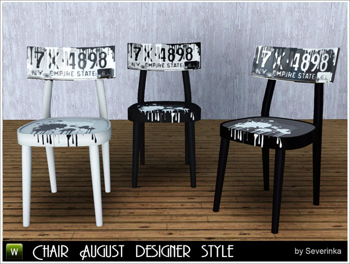 Chair August designer style