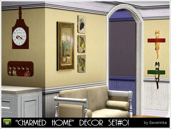 Totally sims 3 updates charmed home decor set 01 for The charmed kitchen