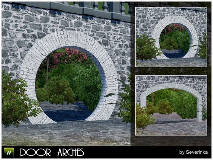 Two door arches