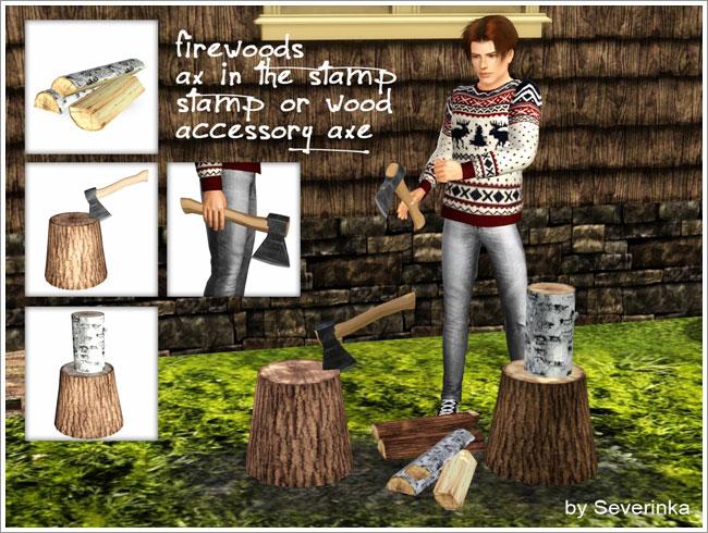 """Set """"Firewood"""""""