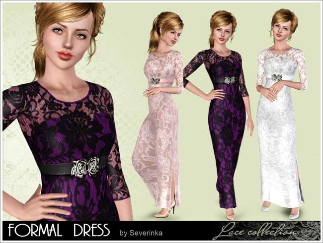 Женщины | Платья Lace-formal1