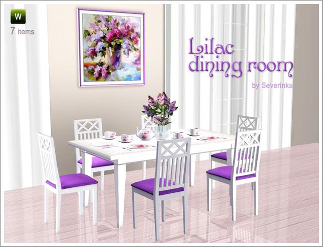 Aico tuscano dining room set