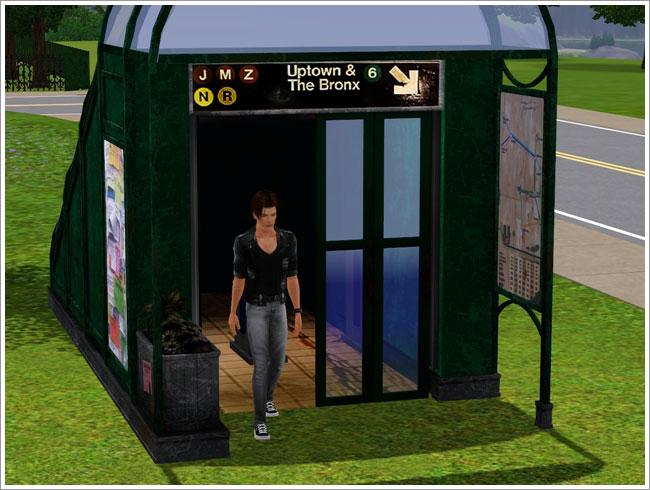 Как сделать в симс 3 лифты 895