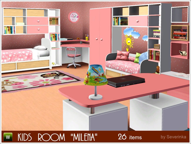 Milena kids room by Severinka