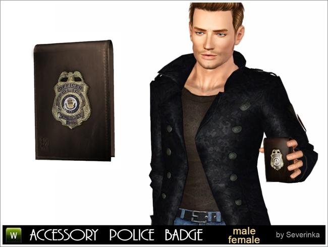 полицейский значок