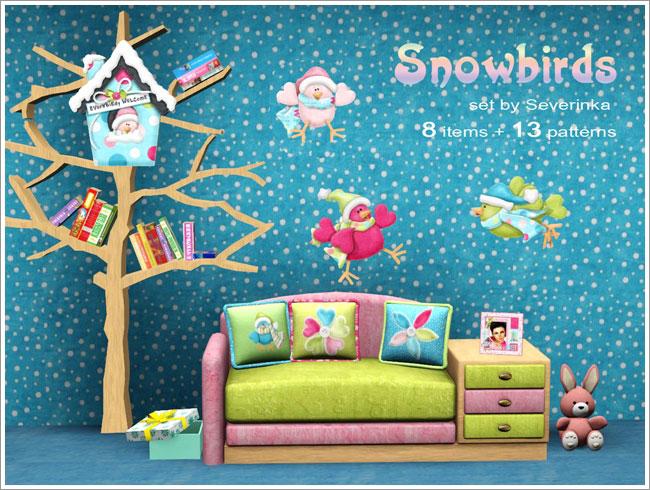 детская мебель snowbirds