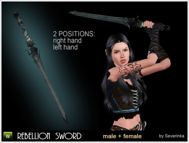 Accessory Rebellion Sword