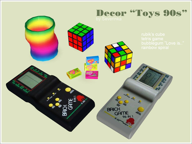 90s Music Toys : Sunny cc finds sims