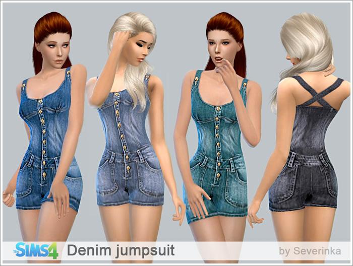 Женская повседневная одежда - Страница 3 Denimjs700-1