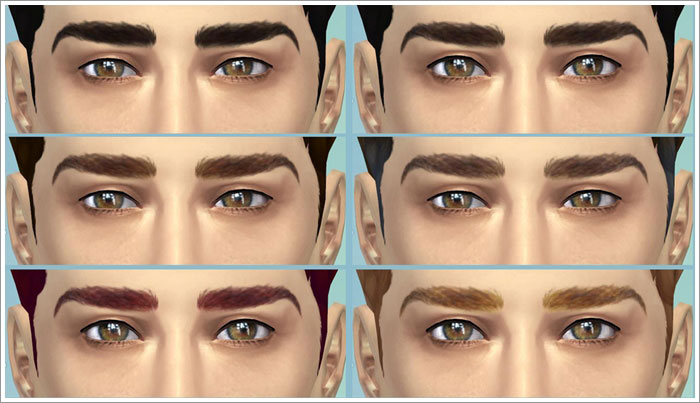 Eyebrows male 01 by Severinka