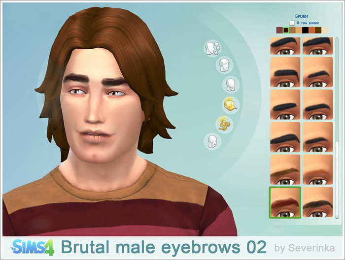 Brutal male eyebrows 02