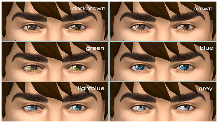 Eyecolor set 01 by Severinka
