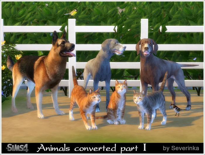 Животные анимированные и как декор Animals1
