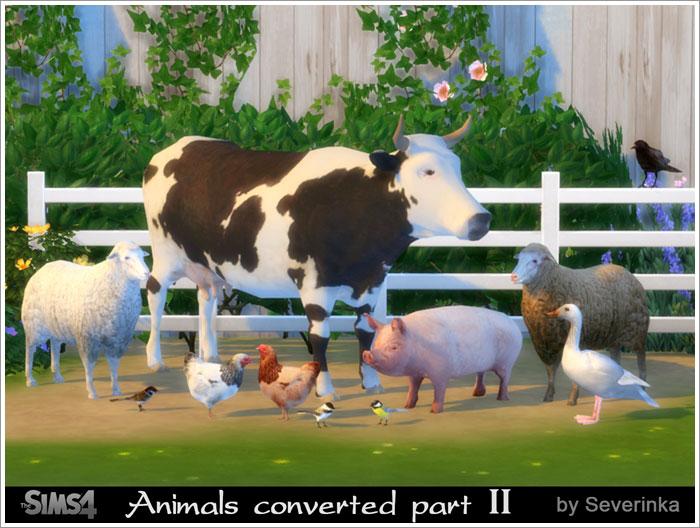 Животные анимированные и как декор Animals5