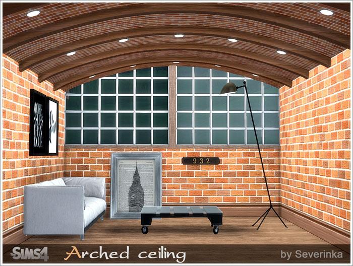 Окна, двери, арки, заборы Arched-ceiling-700-1