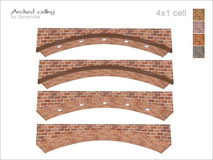 Окна, двери, арки, заборы Arched-ceiling-700-3