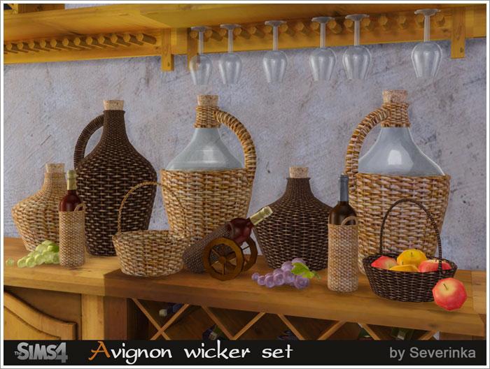 Предметы декора - Страница 2 Avignon-wicker1
