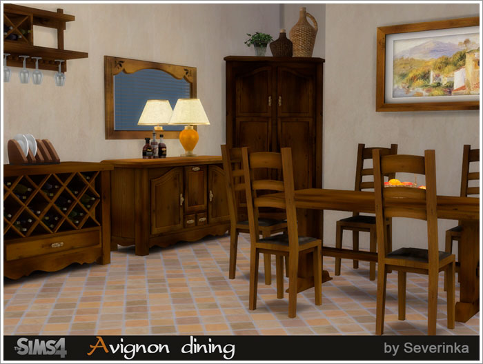 Столовая Avignon1