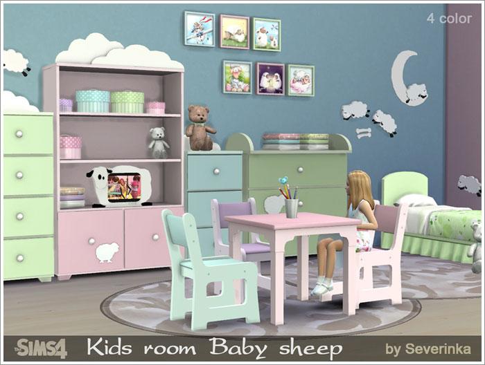 Предметы для детской - Страница 2 Babysheep1