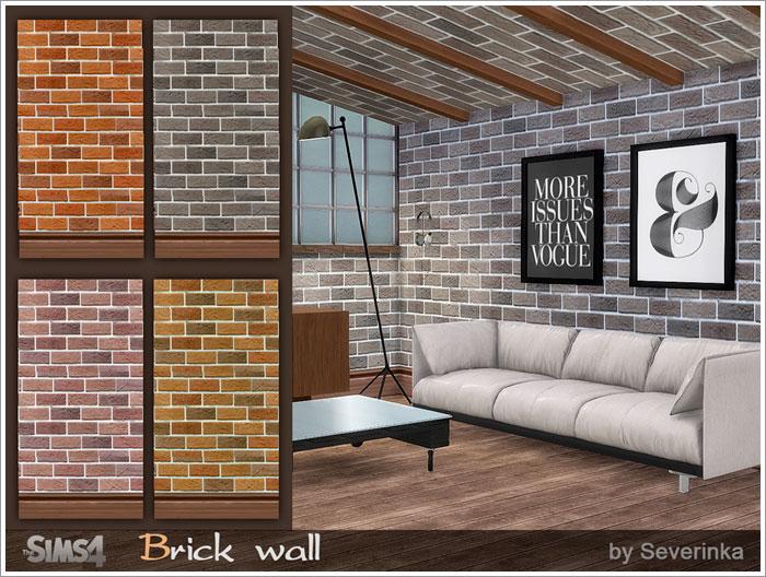 Покрытия на стены и полы Brickwall-700-1