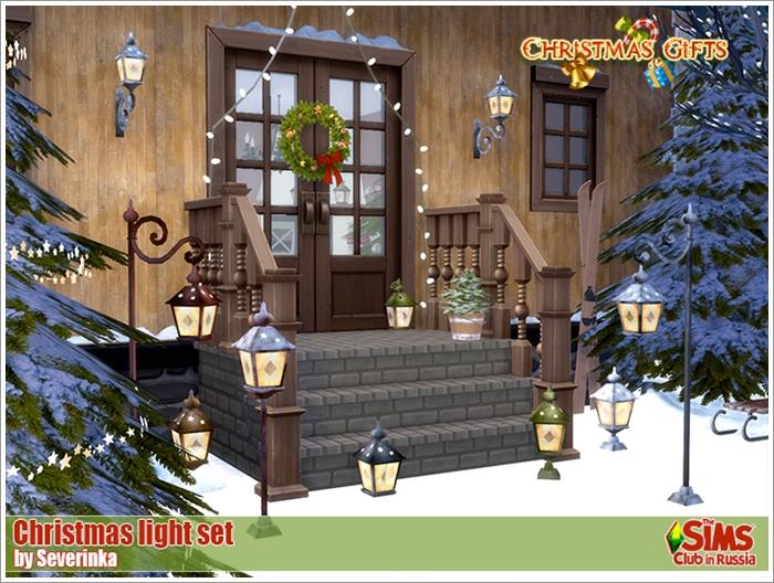 Предметы для Новогодних и Рождественских праздников Christmaslight700-1
