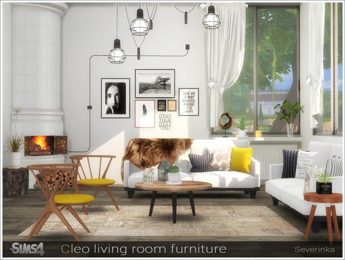 Предметы для гостиной Cleo-furniture1