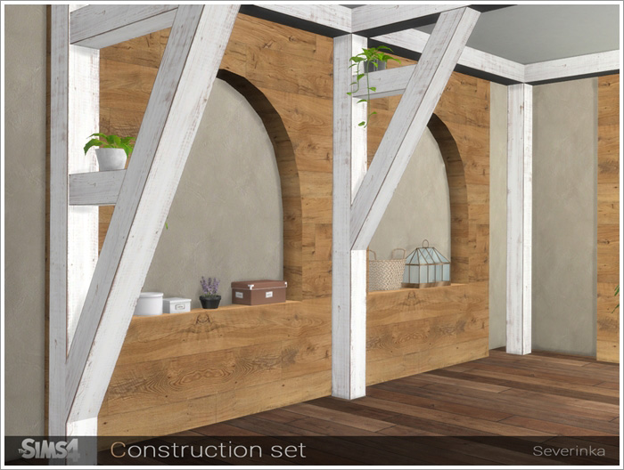 Окна, двери, арки, заборы Constructions3