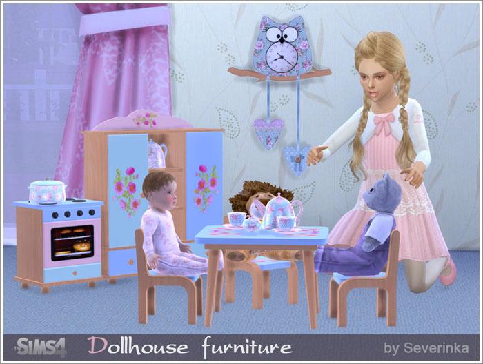 Предметы для детской - Страница 2 Doll-furniture1