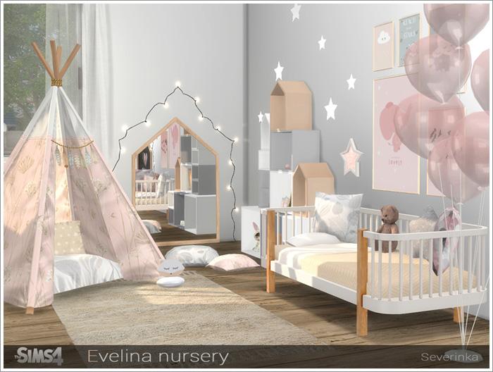 Предметы для детской - Страница 2 Evelina-nursery1