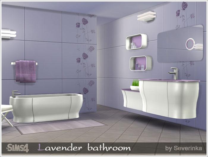 Предметы для ванной Lavender-bathroom1
