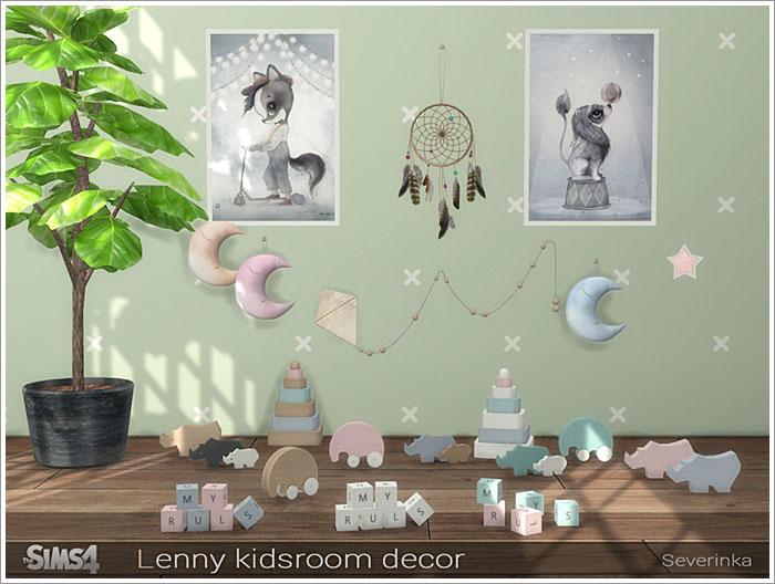Предметы для детской - Страница 2 Lenny-kids-decor2