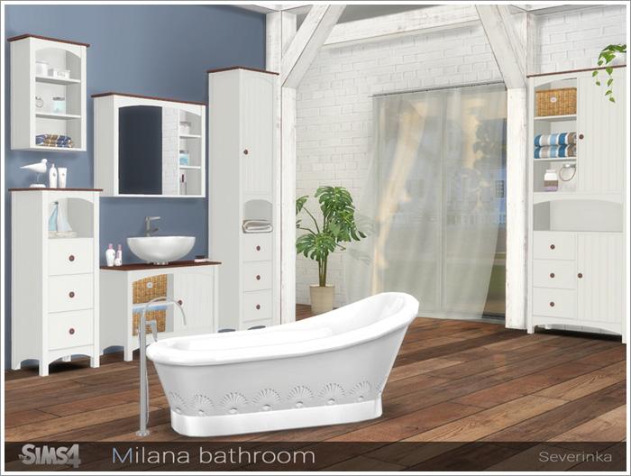 Предметы для ванной Milana-bath1