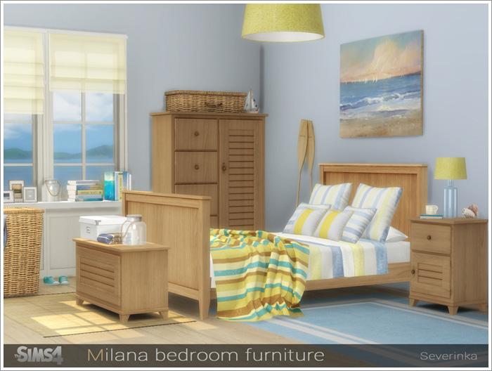 Предметы для спальни Milana-bedroom1