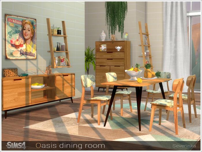 Столовая Oasis-dining2