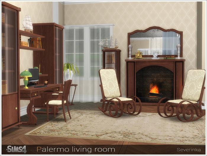 Предметы для гостиной Palermo-living1