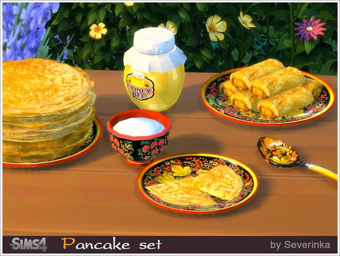 Декоративная еда Pancake1