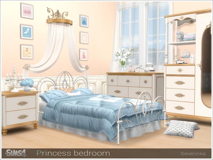Предметы для спальни - Страница 2 Princessbedroom1