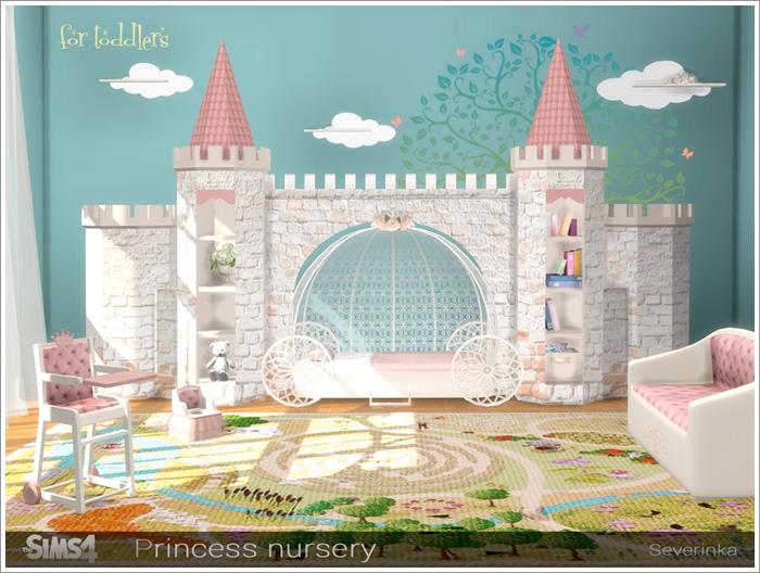 Предметы для детской - Страница 2 Princessnursery1