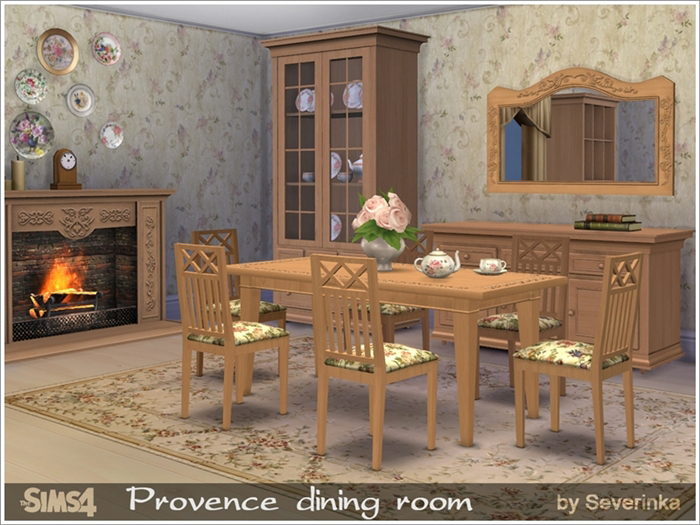 Столовая Provencedining1