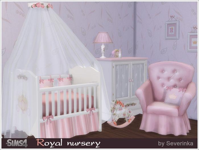 Предметы для детской - Страница 2 Royal-nurcery1