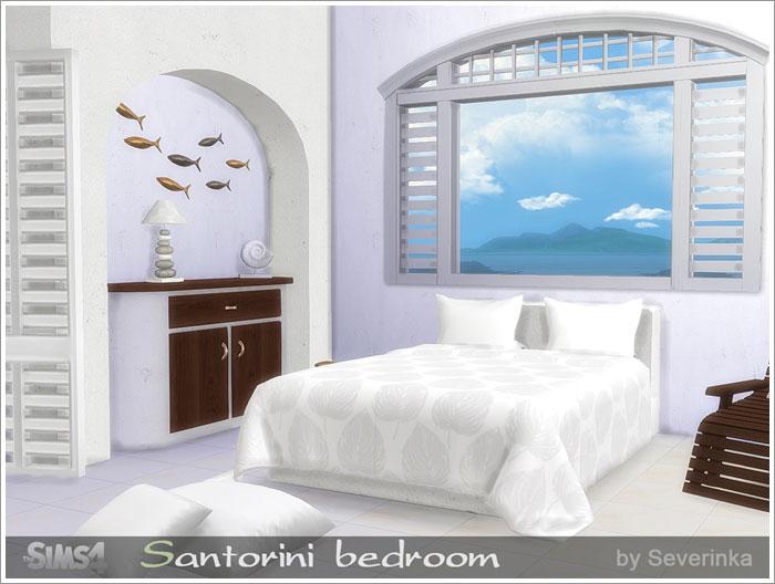 Предметы для спальни - Страница 2 Santorini-bedroom1