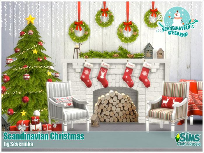 Предметы для Новогодних и Рождественских праздников Scandinavian-christmas1