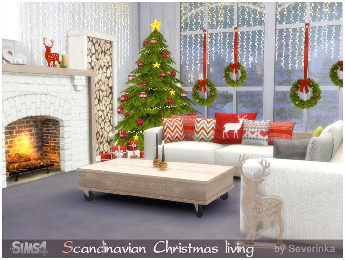 Предметы для Новогодних и Рождественских праздников Schristmas-living1