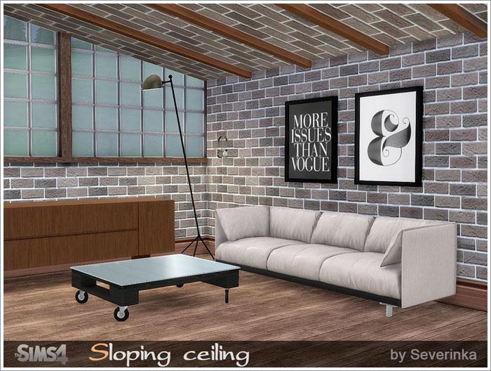 Окна, двери, арки, заборы Sloping-ceiling-700-1