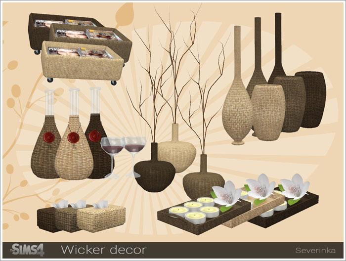 Предметы декора - Страница 2 Wicker-decor1