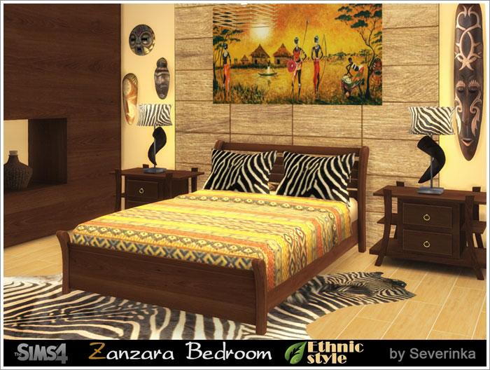 Предметы для спальни - Страница 2 Zanzara-bedroom1