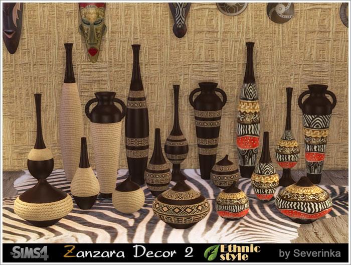 Предметы декора - Страница 2 Zanzara-vase1