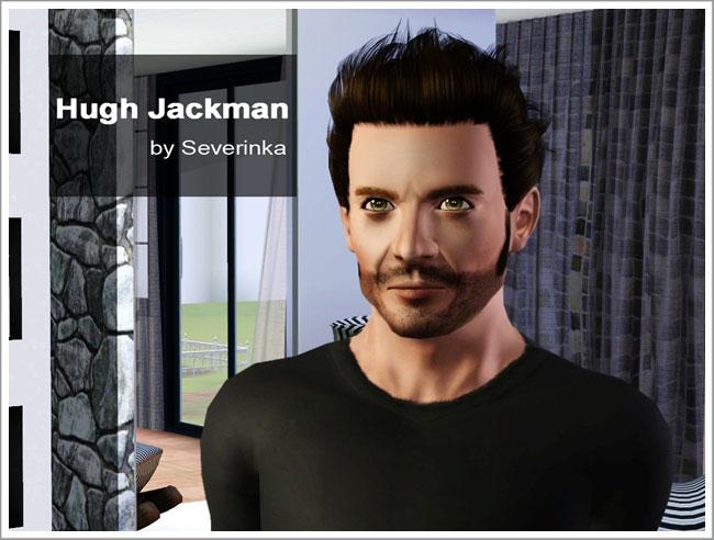 Сим Хью Джекман (Hugh Jackman) by Severinka